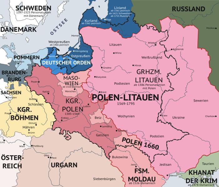 Litauen Polen