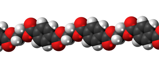 Polyethylene-terephthalate-3D-spacefill
