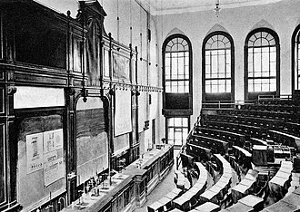 Peter the Great St. Petersburg Polytechnic University - An auditorium of the new institute, 1902