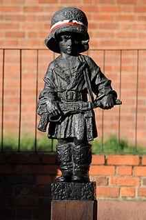 Statue by Jerzy Jarnuszkiewicz in Warsaw, Poland