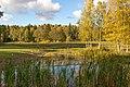 Pond in Flemingsbergsskogens nature reserve.jpg