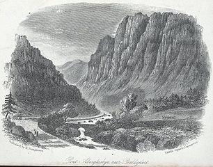 Pont Aberglaslyn, near Beddgelert