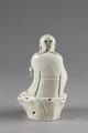 Porslinsfigur bakifrån tillverkad i Kina, Qing dynastin - Hallwylska museet - 99424.tif