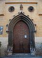 Portalada neogòtica de l'església de sant Nicolau de València.JPG