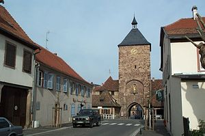 Molsheim - Image: Porte des forgerons