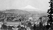 Portland Oregon in 1890