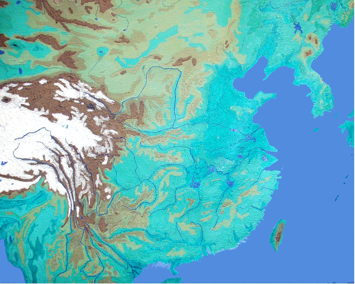Yellow River Flood Wikipedia - Huang river world map