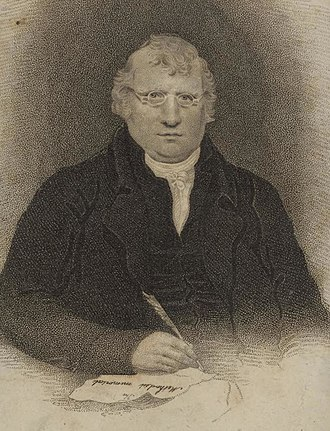 Charles Atmore - Portrait of Charles Atmore in 1794