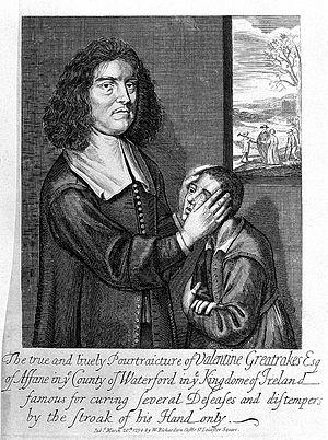 1683 in Ireland - Valentine Greatrakes