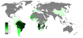 Portuguese Wikipedia Page view ratio by country 201110-201209.png