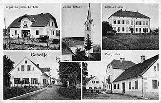 Gotovlje - Postcard of Gotovlje
