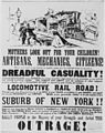 Poster circulated in Philadelphia in 1839 to discourage the coming of the railroad, 1839 - NARA - 513347.jpg