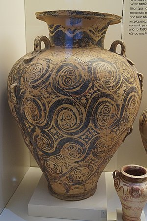 Mycenaean pottery - Image: Pottery from chamber tomb 10 of Dendra 1