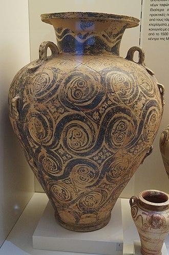 Mycenaean pottery - Image: Pottery from chamber tomb 10 of Dendra 1
