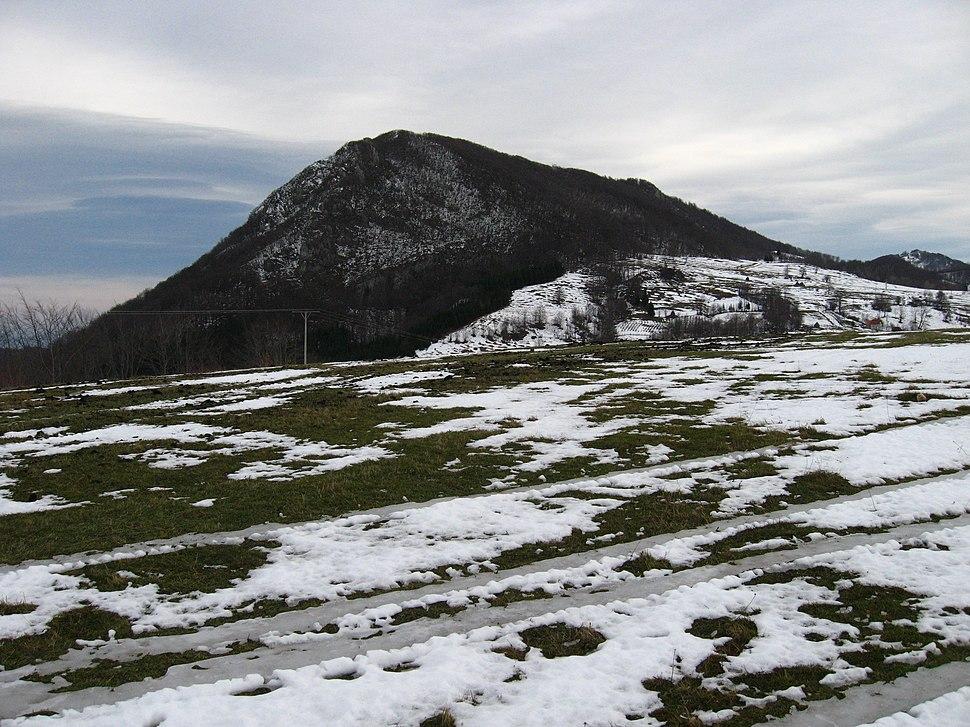 Povlen - zapadna Srbija - Veliki Povlen - pogled na vrh Velikog Povlena