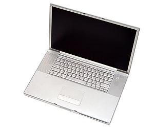 "PowerBook G4 - Image: Powerbook G4 17"" 1.67ghz Late 2005"