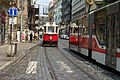 Praha, Vodičkova, stará tramvaj.jpg