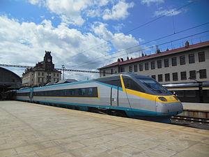 České dráhy - ČD Class 680 Pendolino long-distance train