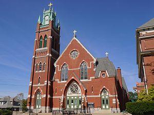 L'Eglise du Precieux Sang (Woonsocket, Rhode Island) - Image: Precious Blood Church