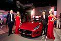 Premier Motors Unveils the Jaguar F-TYPE in Abu Dhabi, UAE (8740731948).jpg