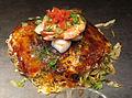 Preparation of okonomiyaki in shimo kitazawa 04.JPG