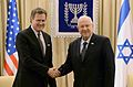 President Reuven Rivlin with Mike Turner. April 1, 2015. II.jpg