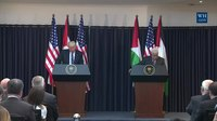 Archivo:President Trump Gives Remarks with President Abbas.webm