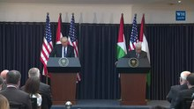 File:President Trump Gives Remarks with President Abbas.webm