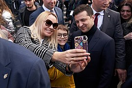 President of Ukraine meets evacuated people from Wuhan 7.jpg