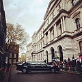 Press waiting for Obama at Downing Street.jpg