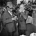 Prins Bernhard in Zaire (voorheen Belgisch Congo), Bernhard en Mobutu, Bestanddeelnr 926-6038.jpg
