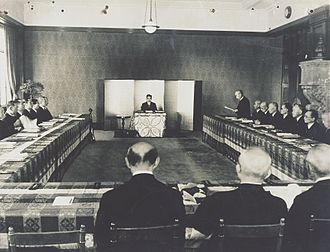 Privy Council of Japan - Meeting of Privy Council, 1946