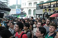 Protesters rally in Hong Kong to support Edward Snowden 02.jpg