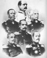 Prussian military leaders in Sadowa.png
