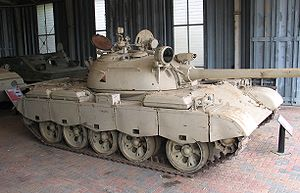 Republican Guard (Iraq) - Type 69-QM2 tank captured during the Persian Gulf War at the Royal Australian Armoured Corps Tank Museum, Puckapunyal, Australia