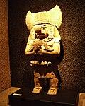 Puebla - Museo Amparo - Nez retroussé, postclassique, états militaristes.JPG