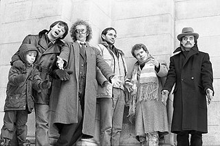 Pukka Orchestra Canadian new wave band in the 1980s