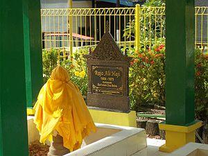 Raja Ali Haji - Raja Ali Haji's tomb on Penyengat Island.