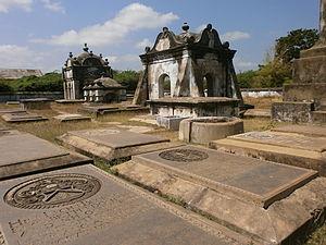 Fort Geldria - Dutch cemetery in Pulicat