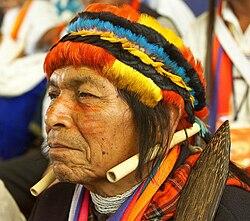 Pwanchir Pitu, Shaman et chef spirituel du peuple Achuar.jpg