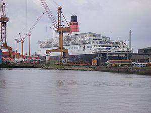 Lloyd Werft - Queen Elizabeth 2 in 2006