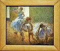 """Queensland Art Gallery - Joy of Museums - """"Three Dancers at a Dance Class"""" by Edgar Degas.jpg"""