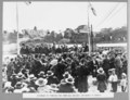 Queensland State Archives 3103 Ceremony of turning the first sod speaker Dr Bradfield Brisbane 24 May 1935.png