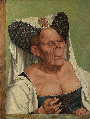 Quentin matsys a grotesque old woman