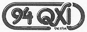 WSTR (FM) - 94Q logo, 1977-89