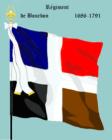Image illustrative de l'article Régiment de Bourbon