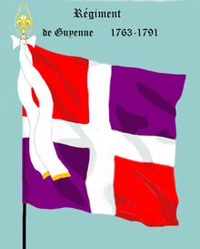Image illustrative de l'article Régiment de Guyenne (1762)