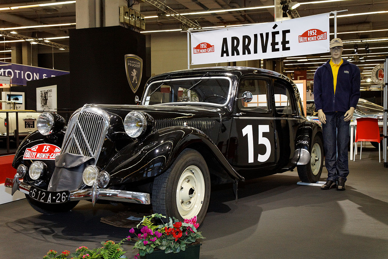 file r tromobile 2011 citro n traction avant rallye de monte carlo wikimedia commons. Black Bedroom Furniture Sets. Home Design Ideas
