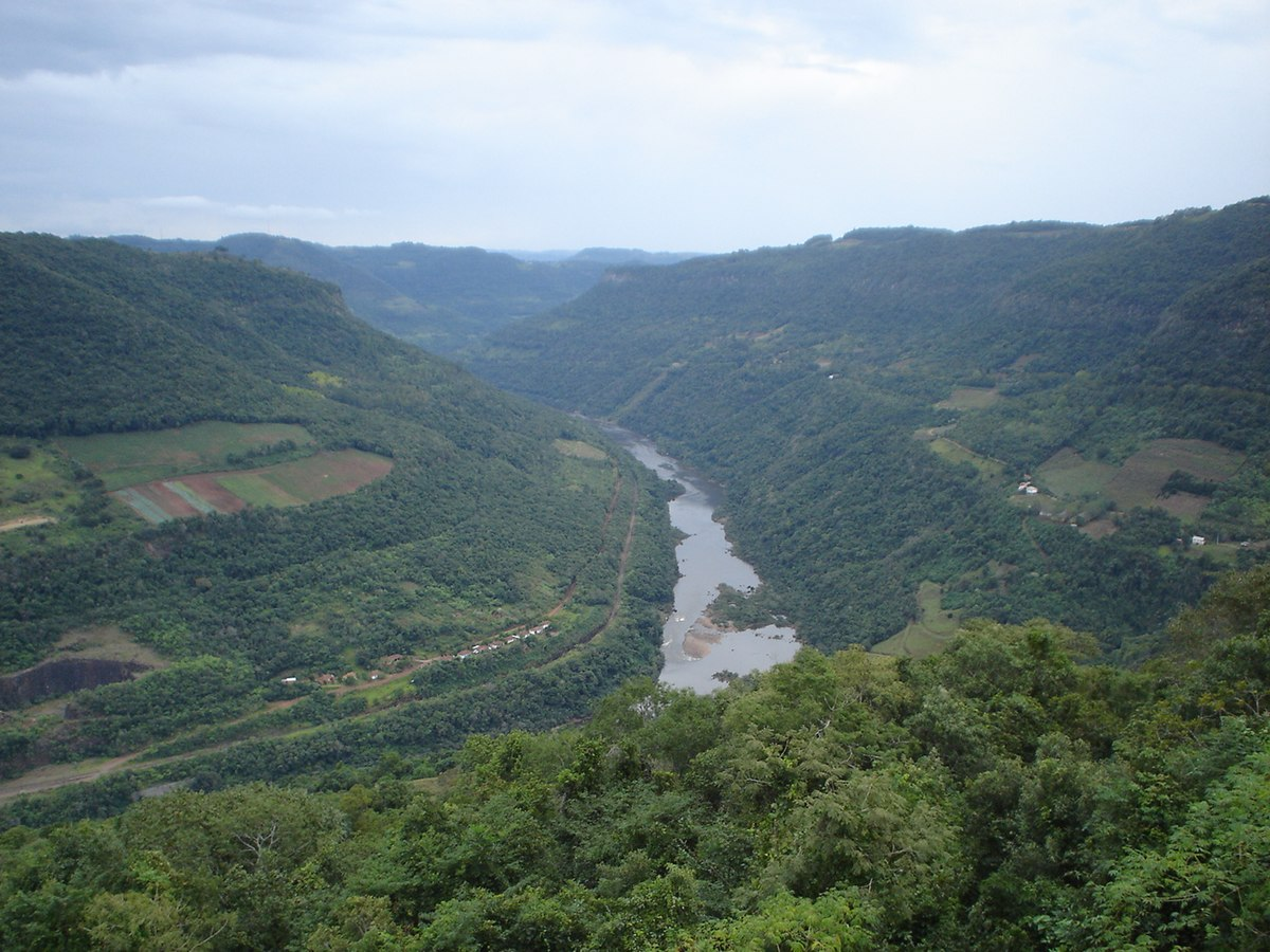 Rio das Antas Santa Catarina fonte: upload.wikimedia.org