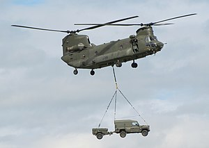 Operation Barras - Image: RAF Chinook